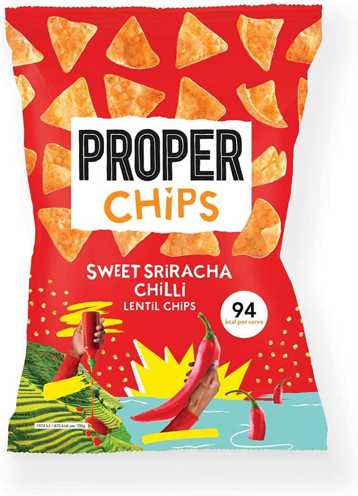 Properchips Sweet Sriracha Chilli 20g