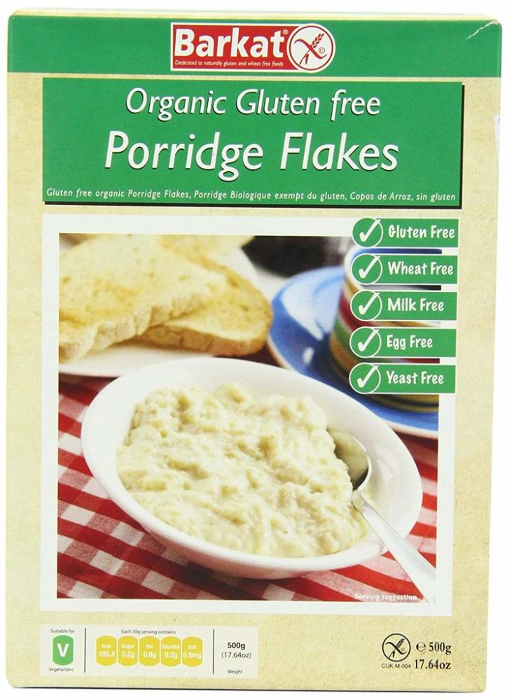 Barkat Organic Gluten Free Porridge 500 g
