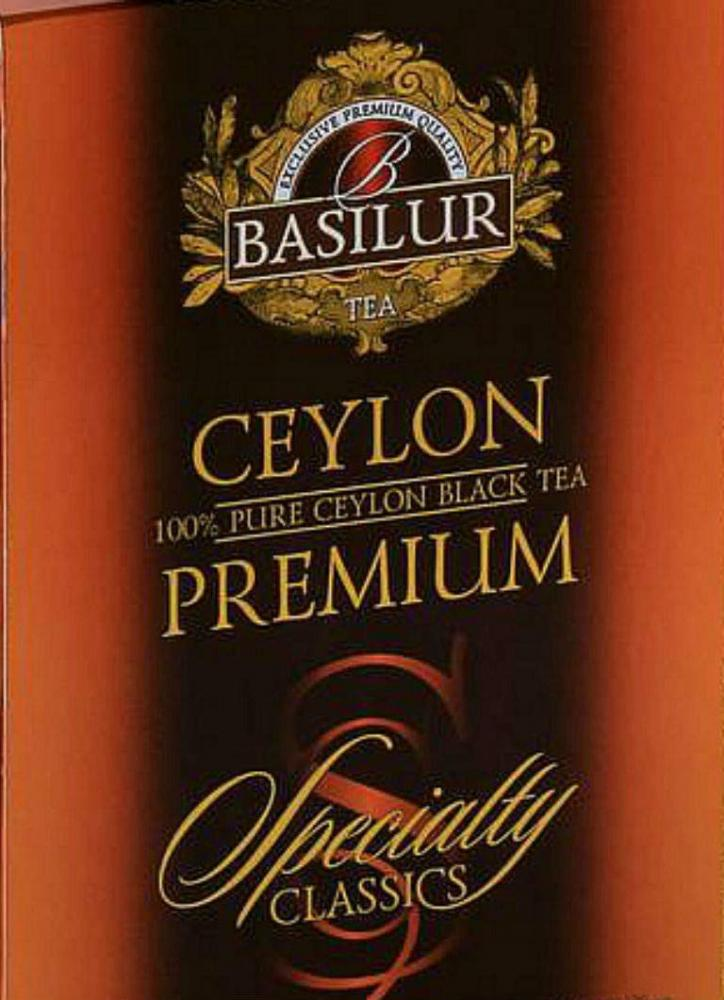 SALE  Basilur Tea Ceylon Premium Specialty Classic 100g