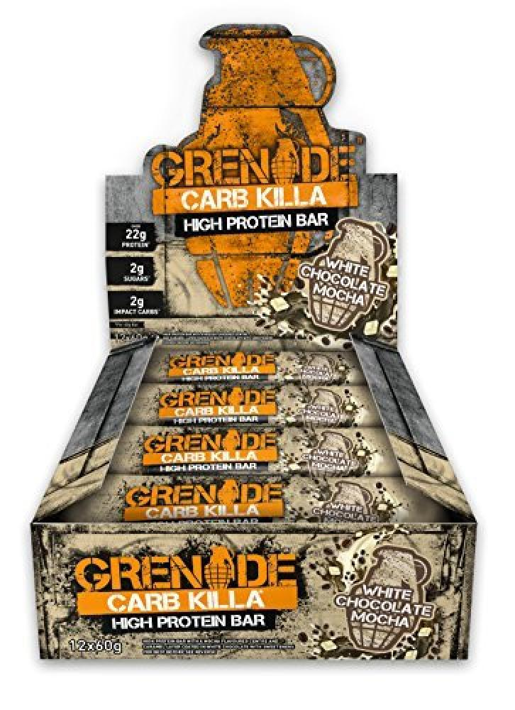 Grenade Carb Killa High Protein White Choc Mocha Flavour 60g