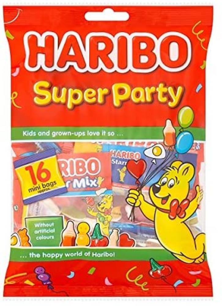 Haribo Super Party 16 Mini Bags 256g