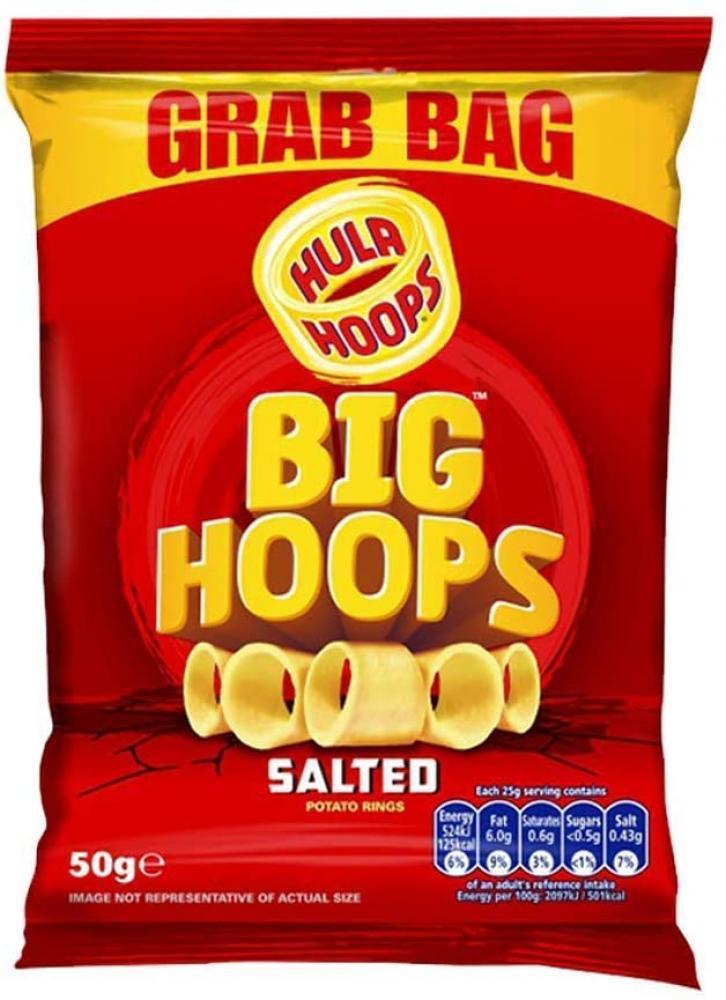 Hula Hoops Big Hoops Crunchy Potato Rings 50 g
