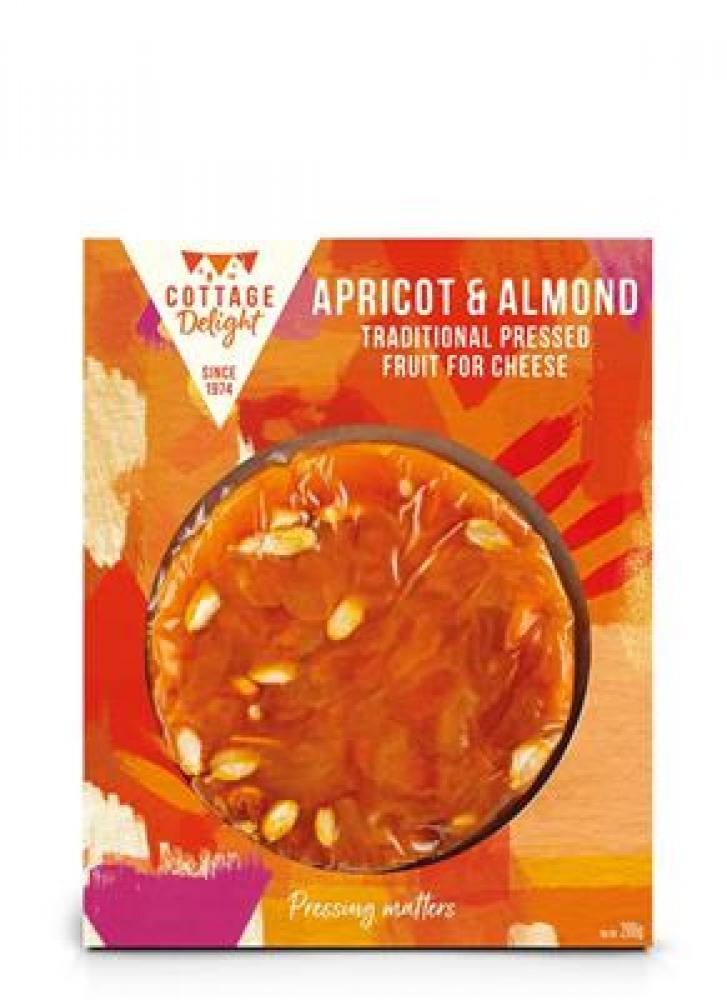Cottage Delight Apricot and Almond Traditional Pressed Fruit For Cheese 200g