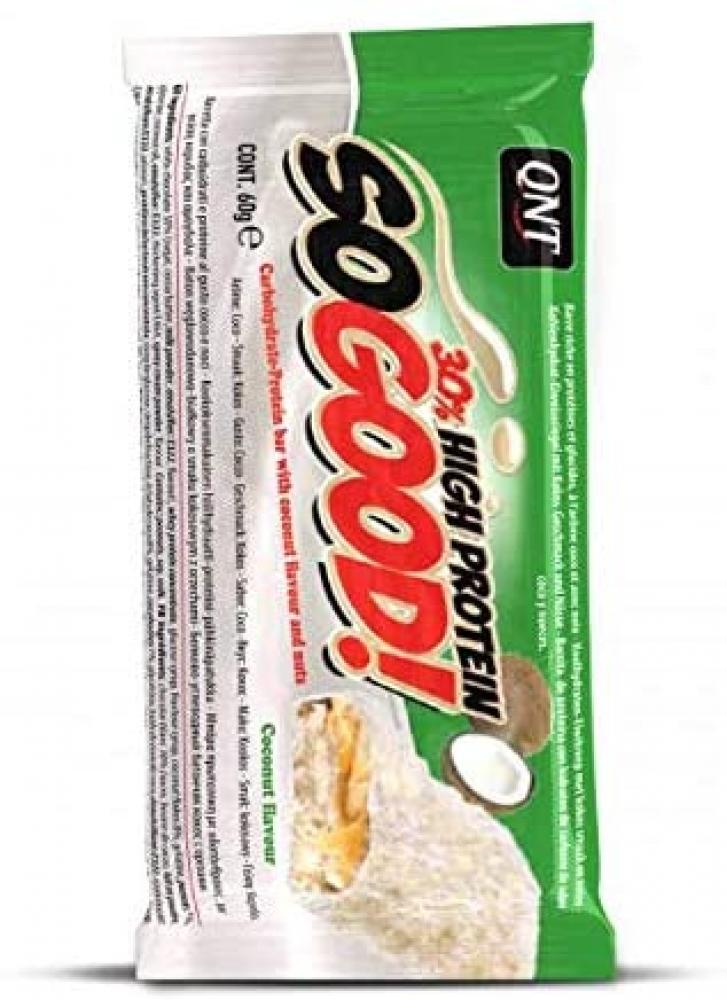 QNT So Good Protein Bar White Chocolate and Coco 60g