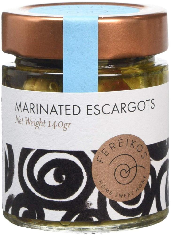 Fereikos Marinated Escargots 140g