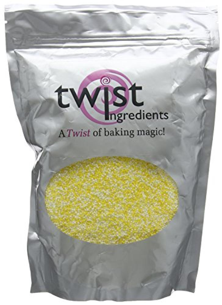 SUMMER SALE  Twist Ingredients Yellow and White Hundreds and Thousands 1 kg