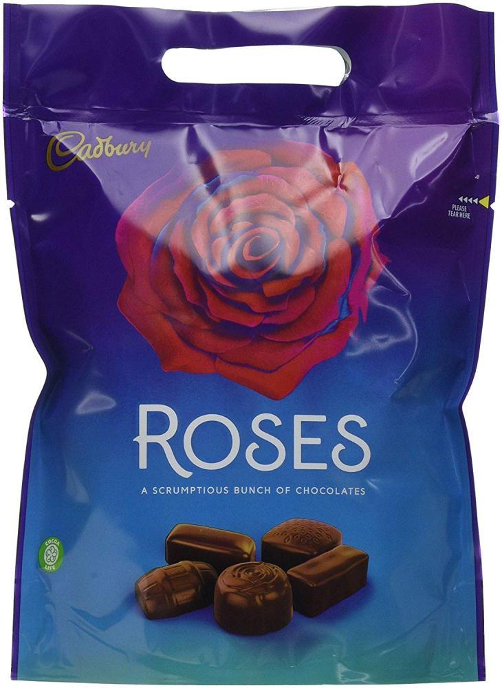 FLASH DEAL  Cadbury Roses Chocolate Pouch 400g