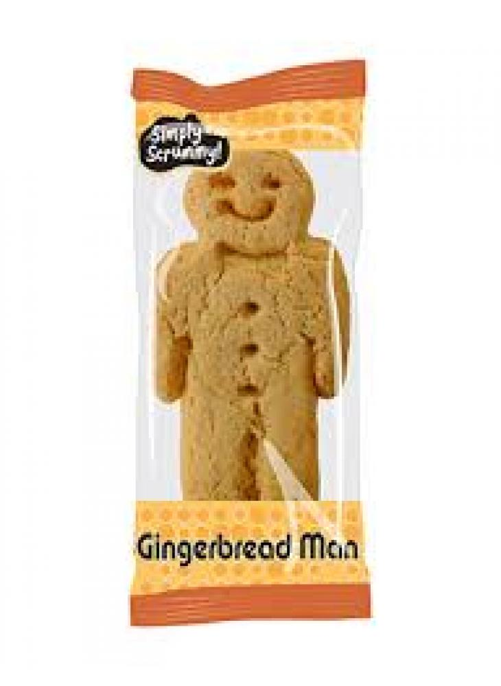 WEEKLY DEAL CASE PRICE  Simply Scrummy Gingerbread Man 50 x 27g