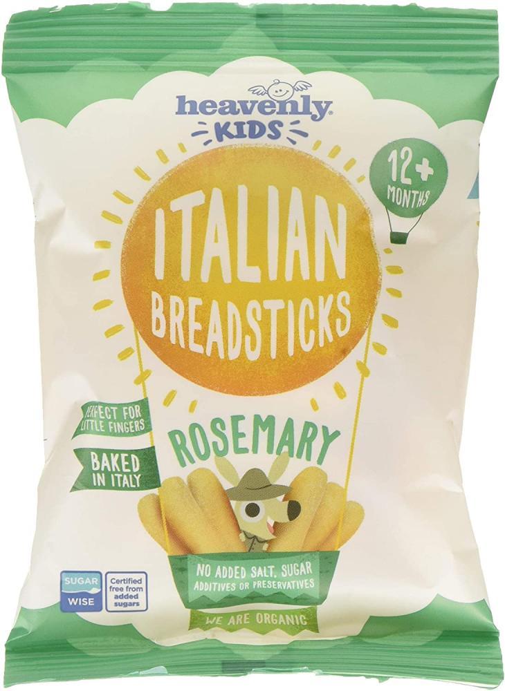 Heavenly Kids Organic Italian Breadsticks Rosemary 30g