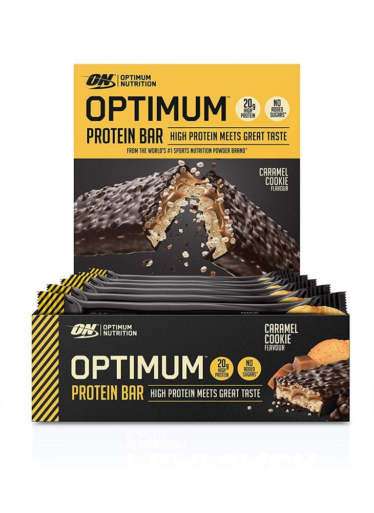Optimum Nutrition Protein Bar Caramel Cookie with Whey Protein Isolate 60g