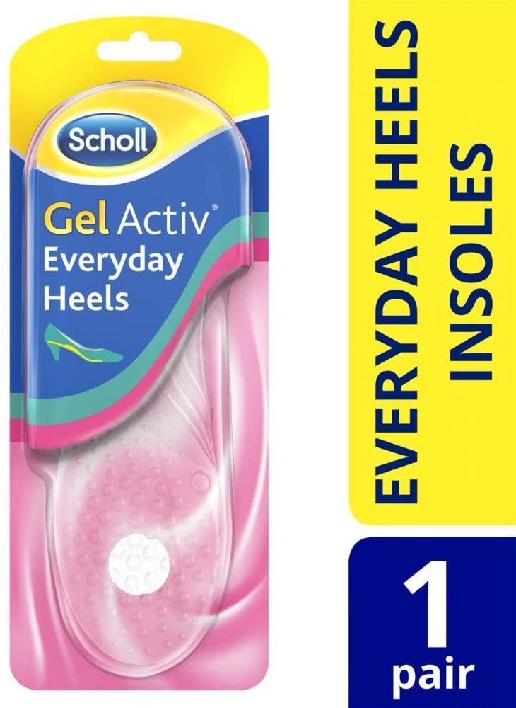 Scholl Gel Activ Everyday Heels Insoles
