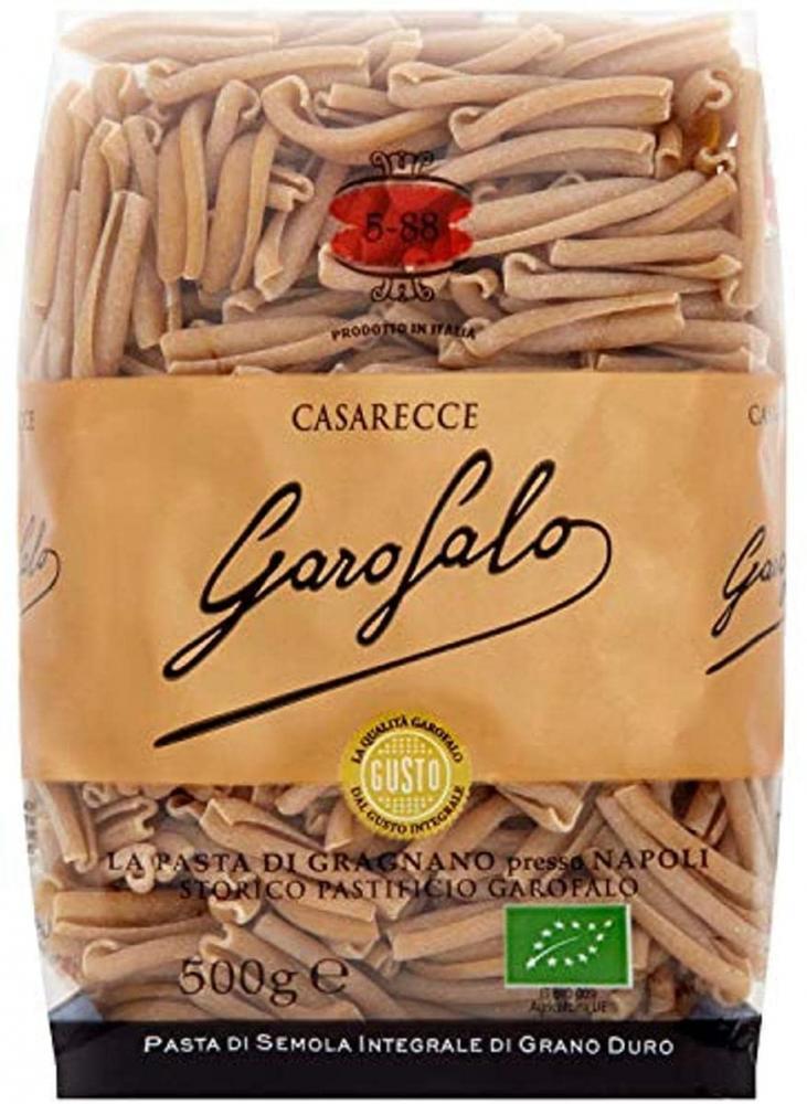 Garofalo Organic Whole Wheat Casarecce Pasta 500g
