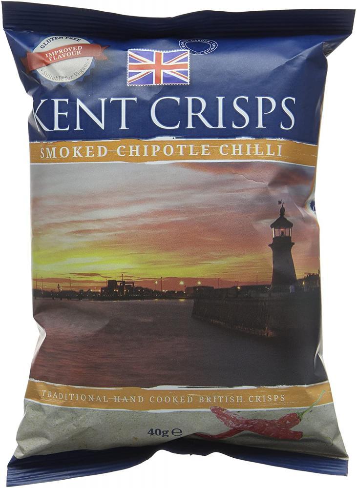 Kent Crisps Smoked Chipotle Chilli 40 g