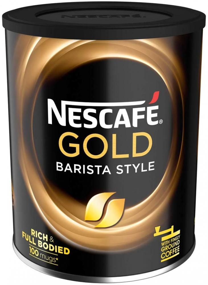Nescafe Gold Blend Barista Style Instant Coffee Tin 180g