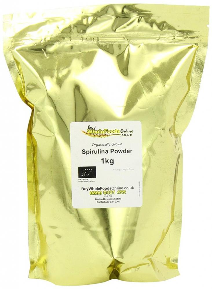 Buy Whole Foods Organic Spirulina Powder 1kg