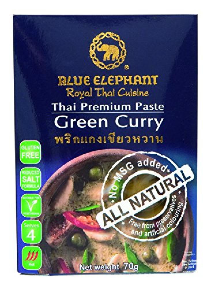 Blue Elephant Royal Cuisine Thai Premium Paste Green Curry 70 g