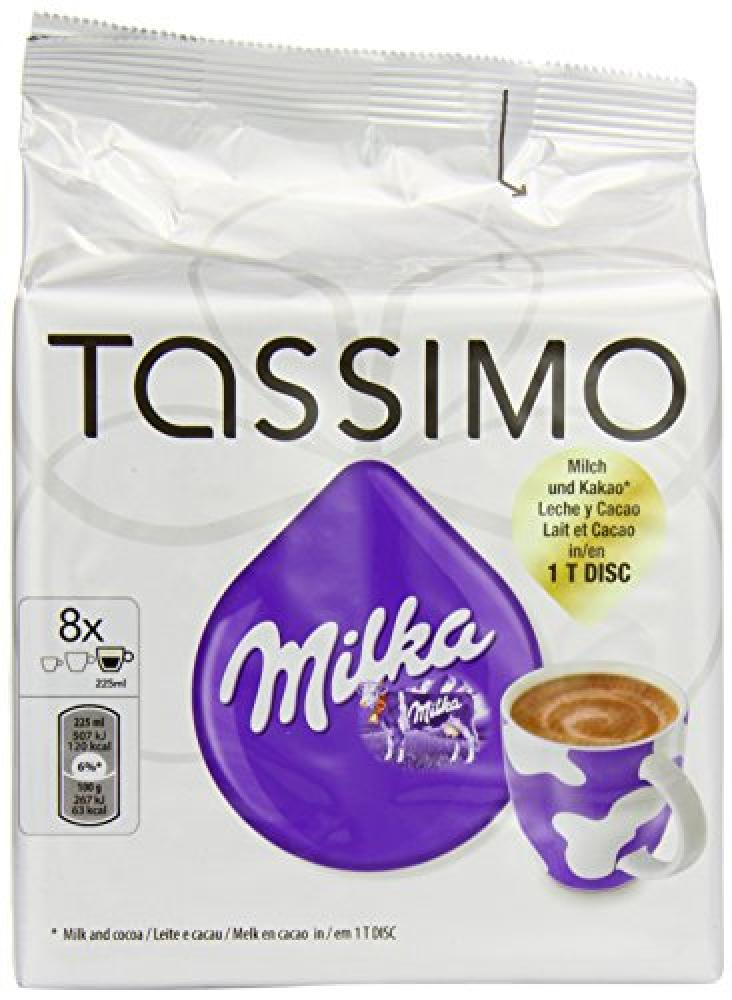 Tassimo Milka Hot Chocolate 8 T Discs Approved Food