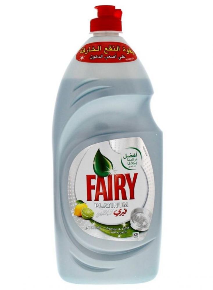 Fairy Platinum Lemon and Lime Liquid 625ml