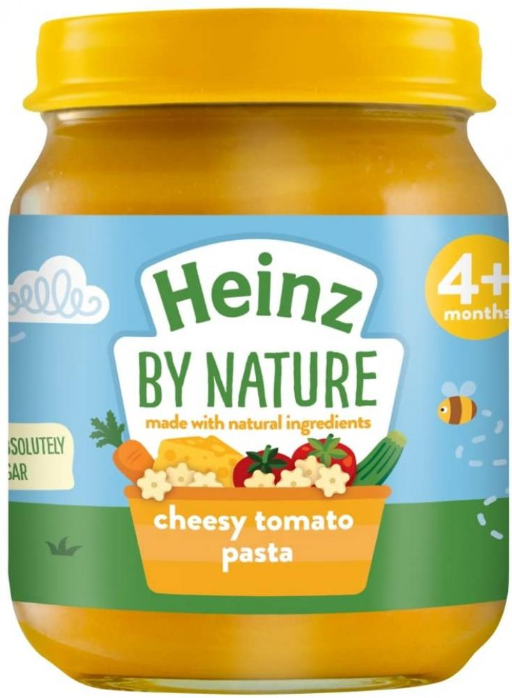 SALE  Heinz By Nature Cheesy Tomato Pasta 4 plus Months 120 g