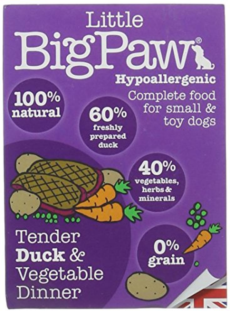 Little Big Paw Tender Duck and Vegetable Dinner 150 g