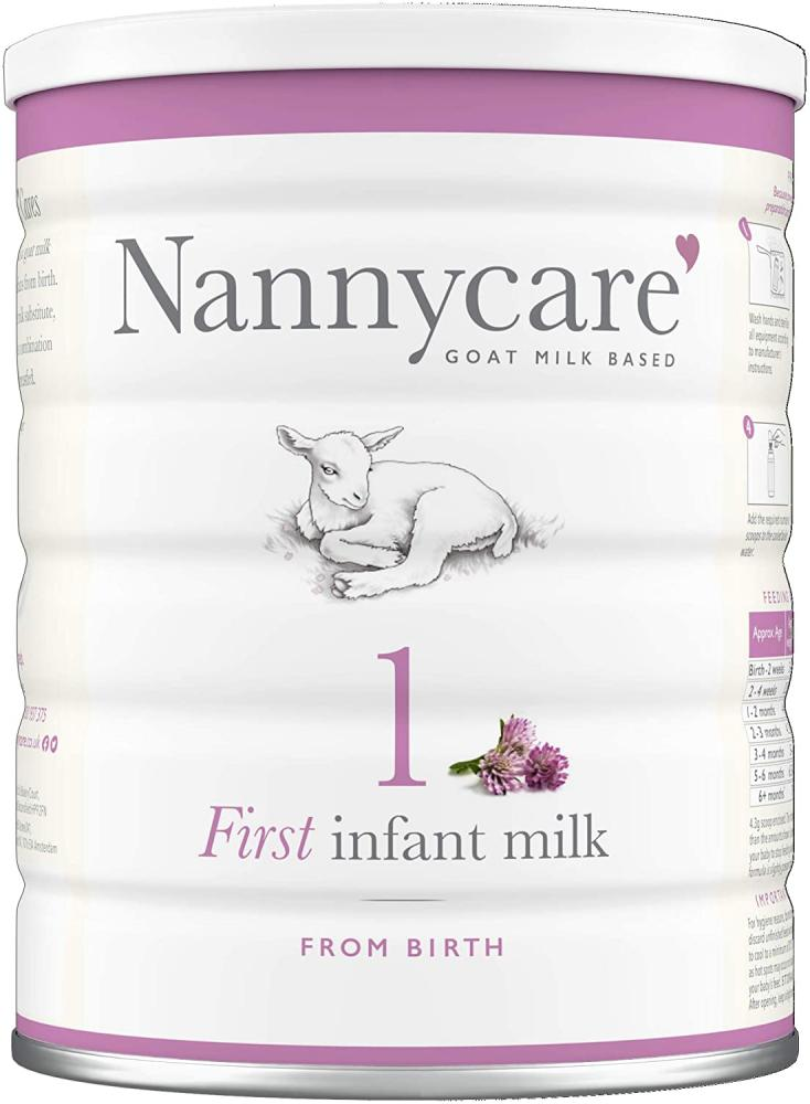 Nanny Care Goats Milk Baby Formula - Stage 1 from Birth First Infant Milk 900g