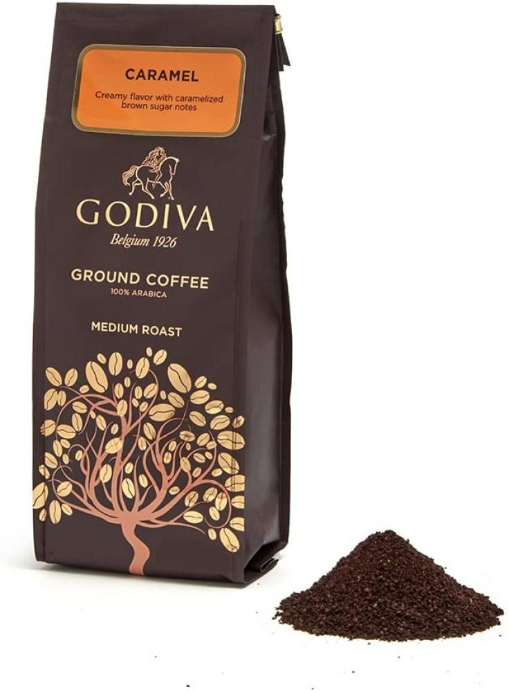 Godiva Caramel Ground Coffee 284g