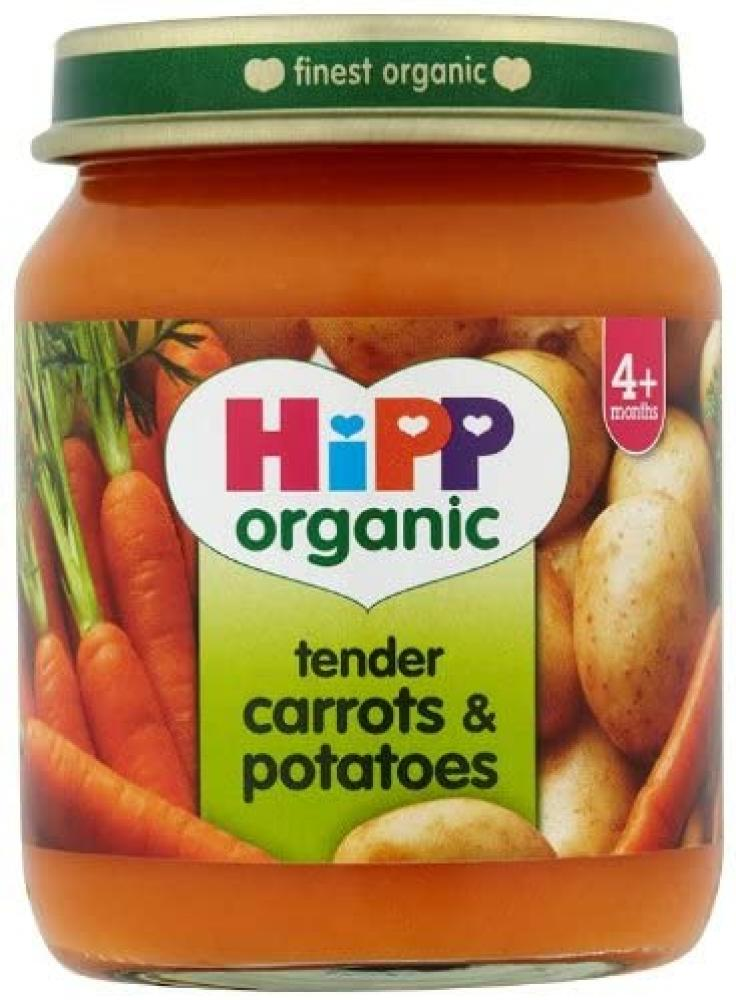 HiPP Organic Stage 1 From 4 Months Tender Carrots and Potatoes 125g