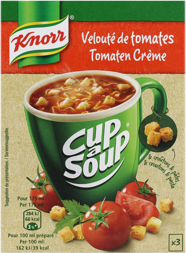 Knorr Cup a Soup Tomato 3 x 18g