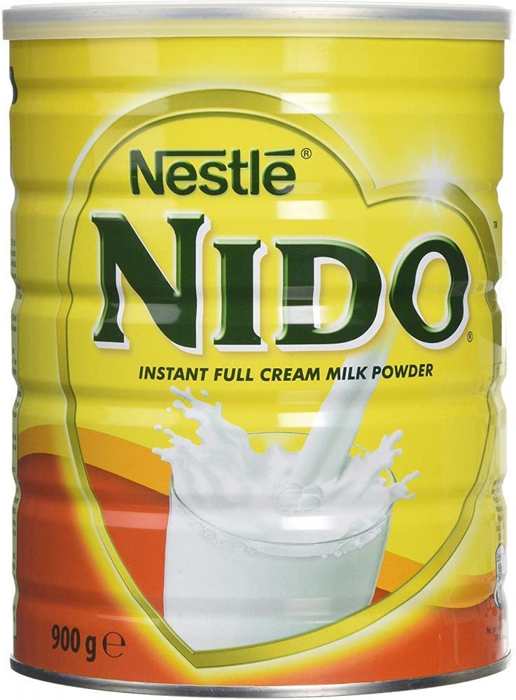 Nestle Nido Instant Full Cream Milk Powder 900g No cap