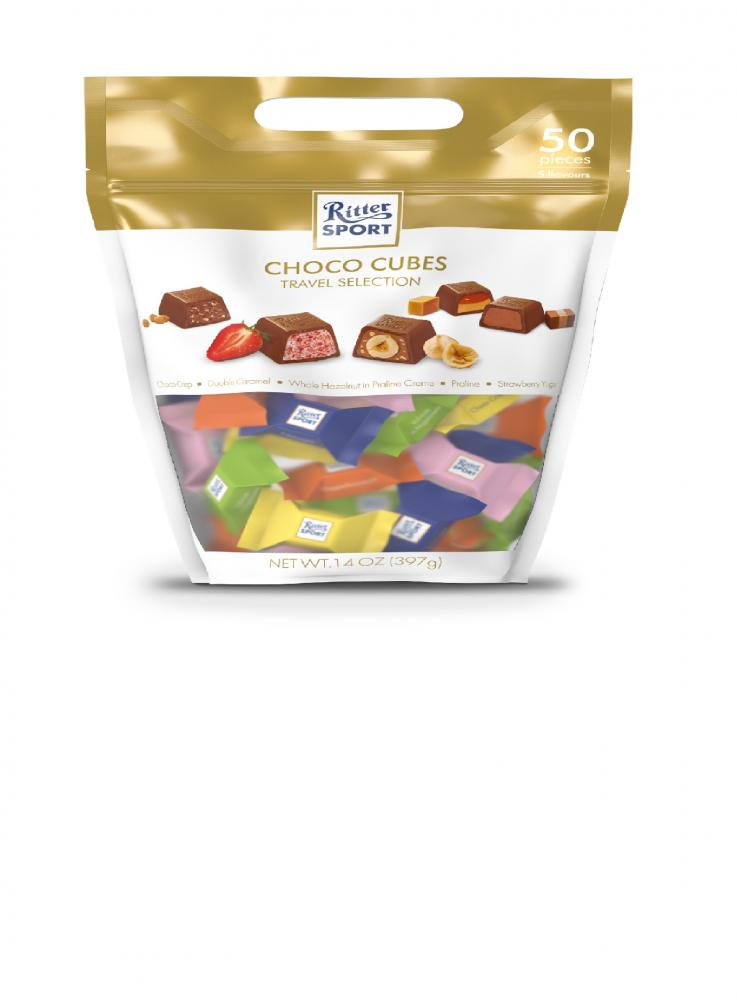 Ritter Sport Choco Cubes Travel Selection 397g
