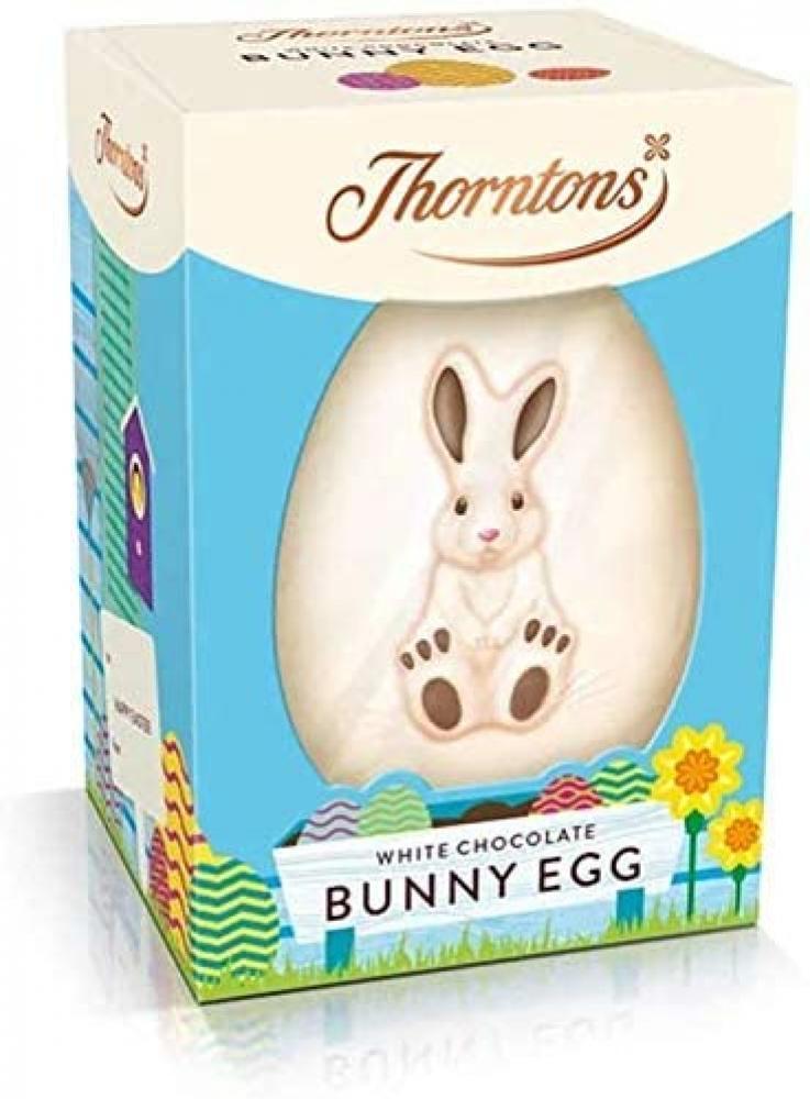 Thorntons White Chocolate Bunny Egg 151g