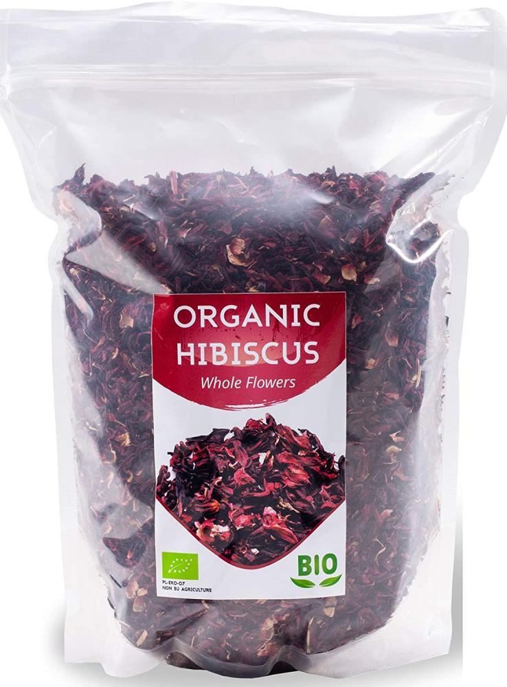 herbalNordPol Organic Hibiscus Flowers 1 kg