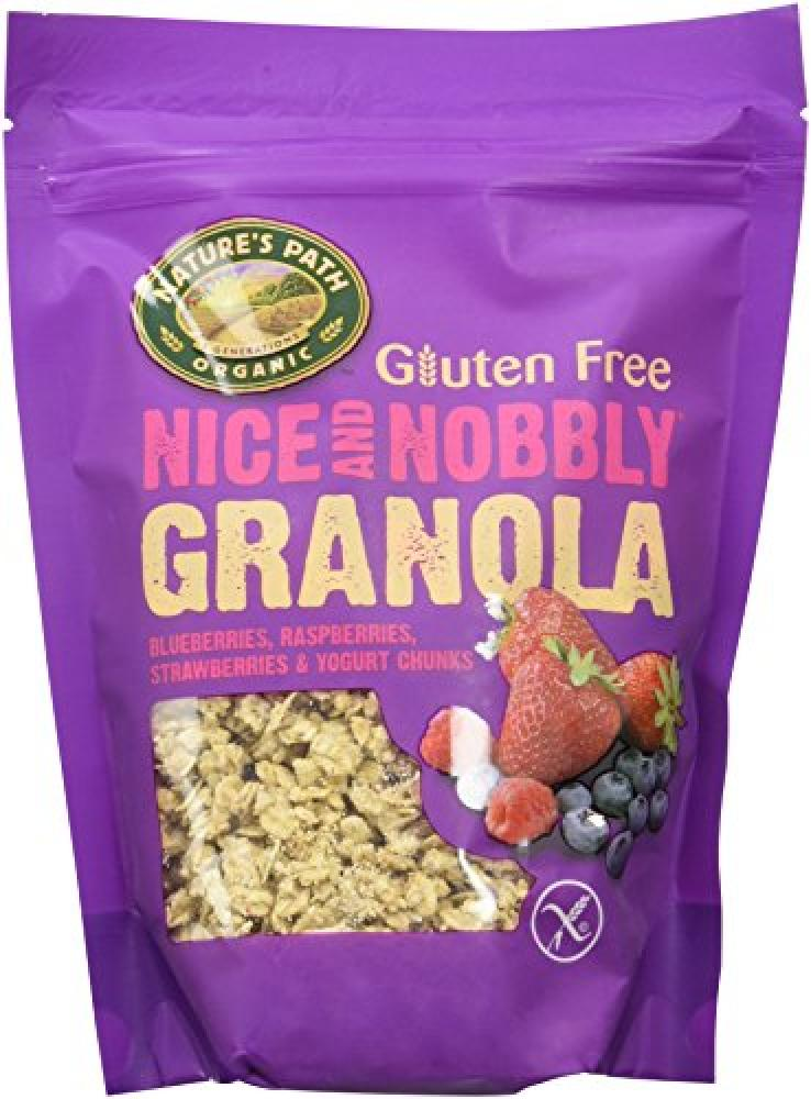 Natures Path Nice And Nobbly Granola Berry 312g