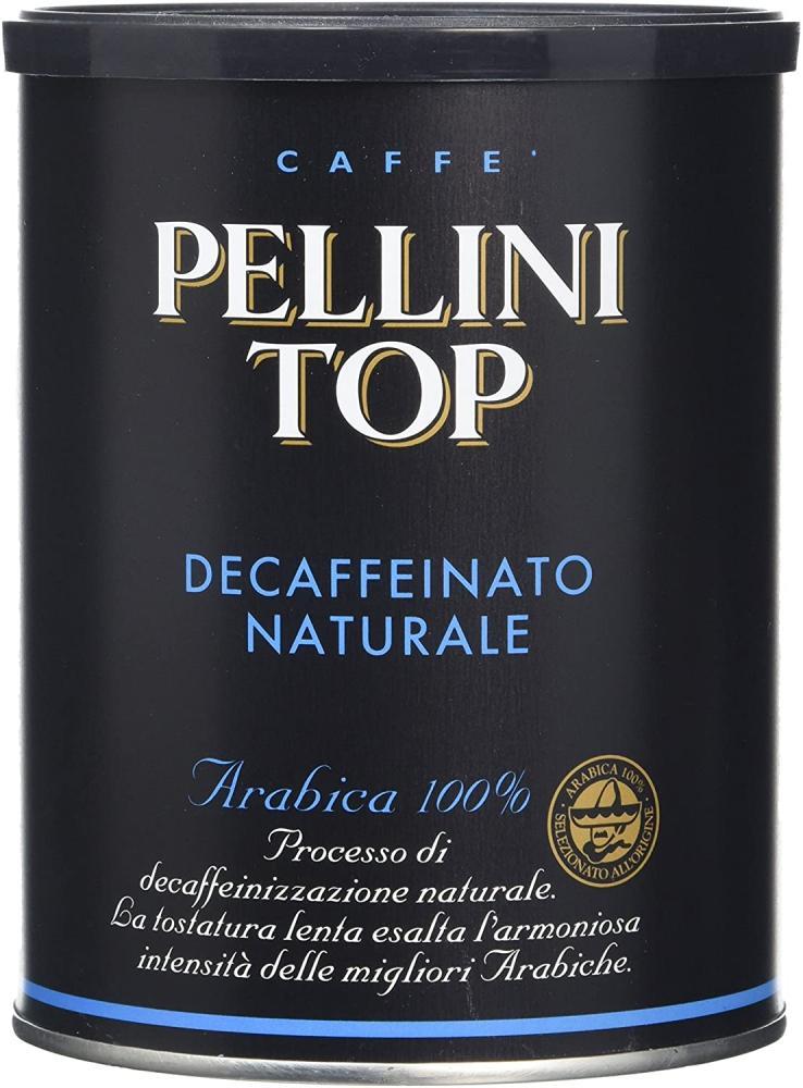 Pellini Top 100 Percent Arabica Naturally Decaffeinated Coffee 250g