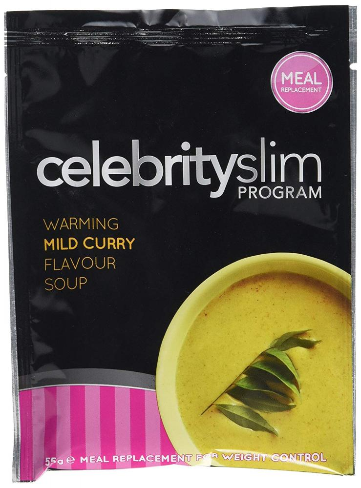Celebrity Slim Warming Mild Curry Soup 55g
