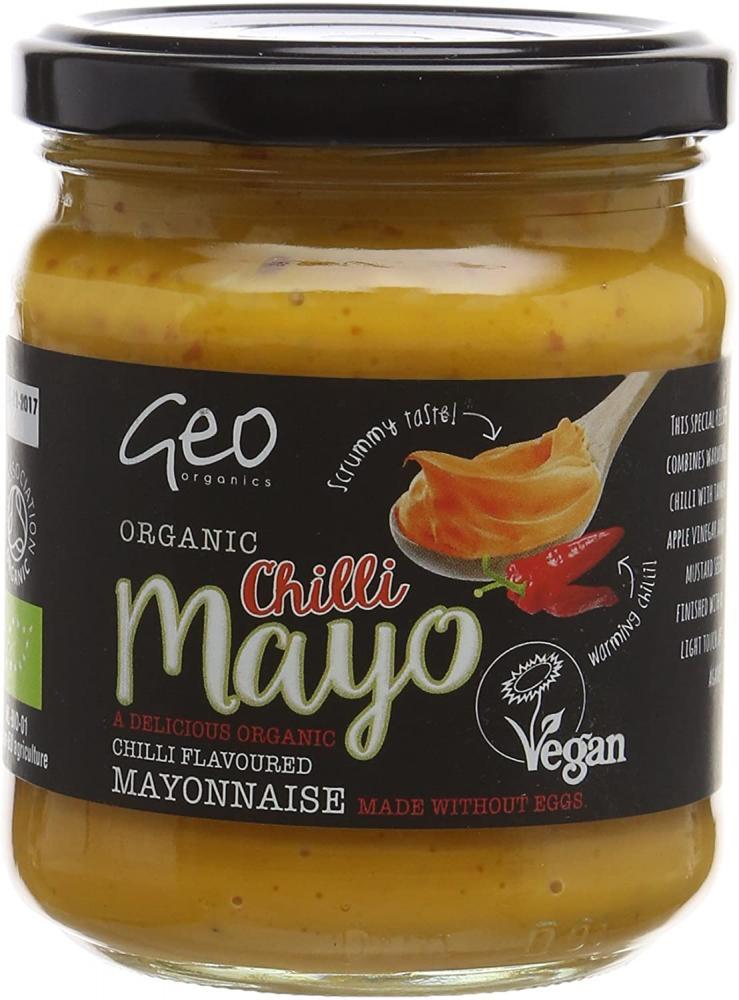 Geo Organic Chilli Mayo 232g