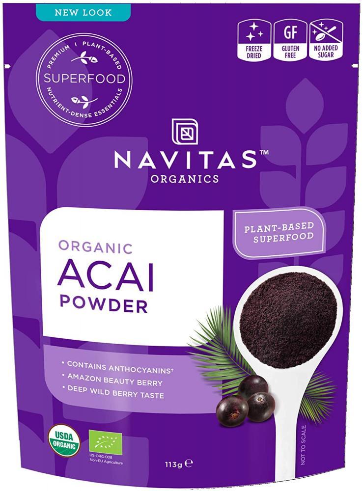 Navitas Organics Acai Powder 113 g