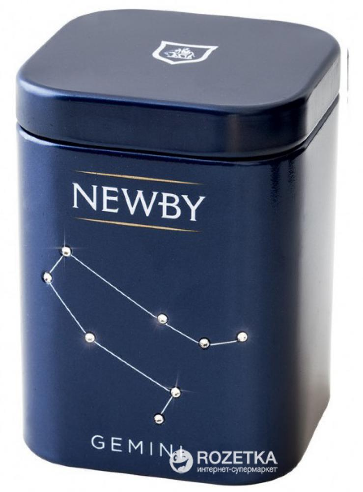 Newby Teas Zodiac Mini Caddy Gemini Indian Breakfast Black Tea 25 g
