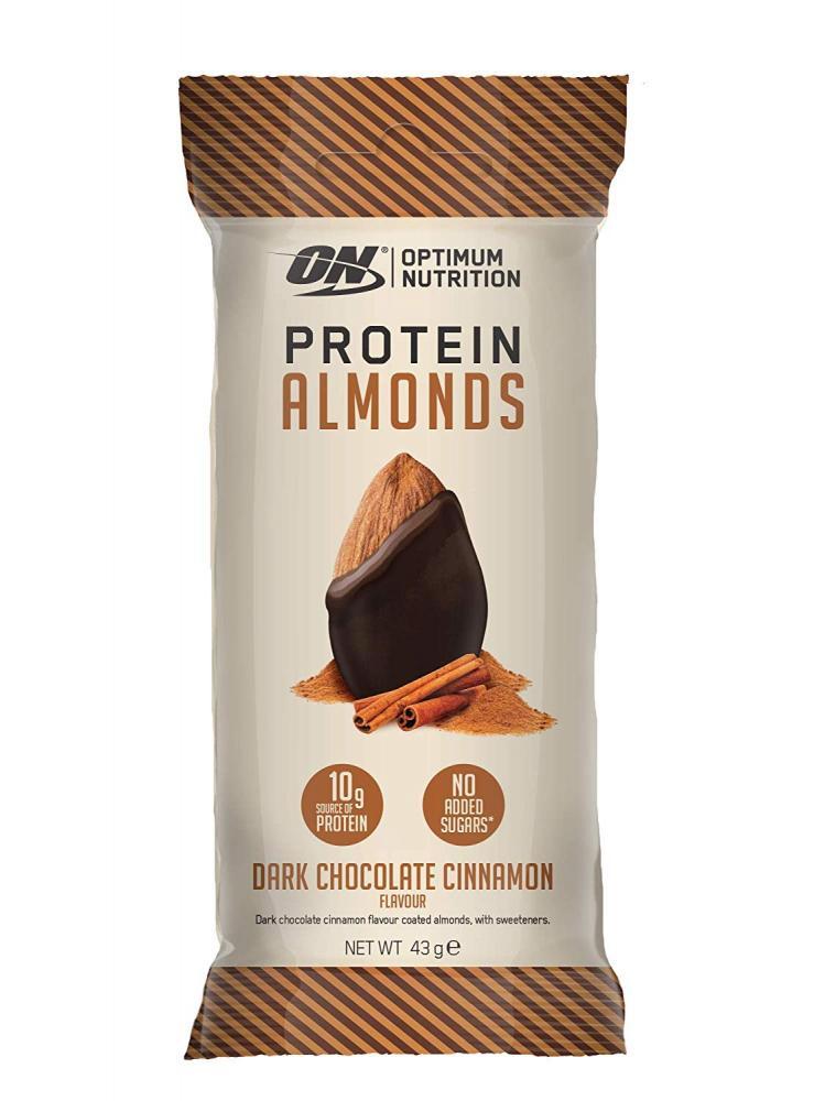 Optimum Nutrition Whey Protein Almond Nuts Dark Chocolate Truffle No Added Sugar 43g