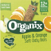 Image of WEEKLY DEAL Organix Apple and Orange Soft Oaty Bar 6 Pack