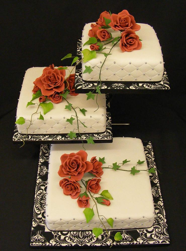 Barker Bakes Burgundy Flowerpaste for Cake Decorating and Sugar Flowers 300 g