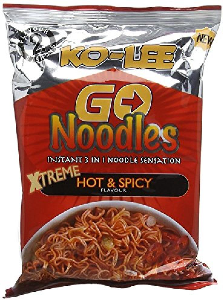 Ko-lee Go Instant Noodles x treme Hot and Spicy Flavour 85g