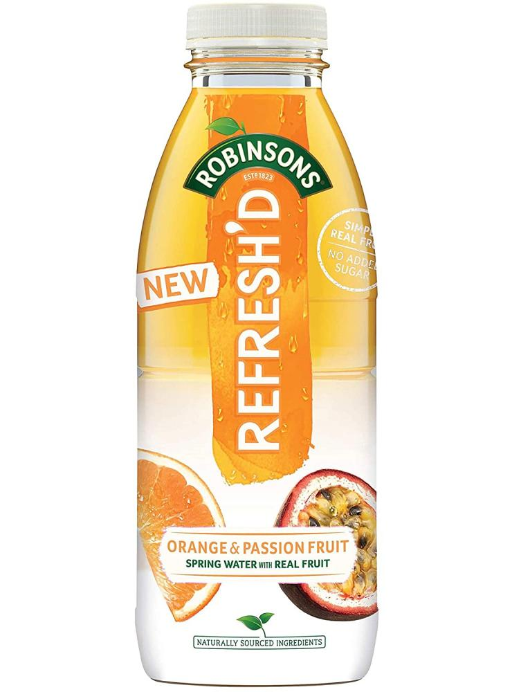 Robinsons Refreshd Orange and Passionfruit 500ml