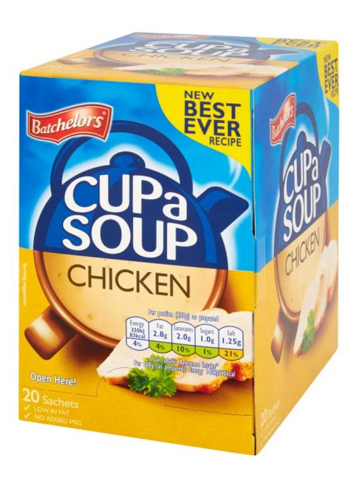 Batchelors Cup a Soup Chicken 401g 20 sachets