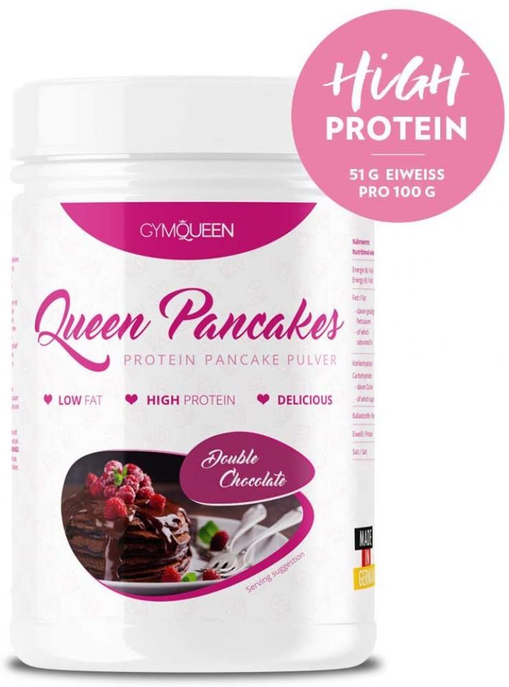 GymQueen Protein Pancake Pulver Double Chocolate 500g