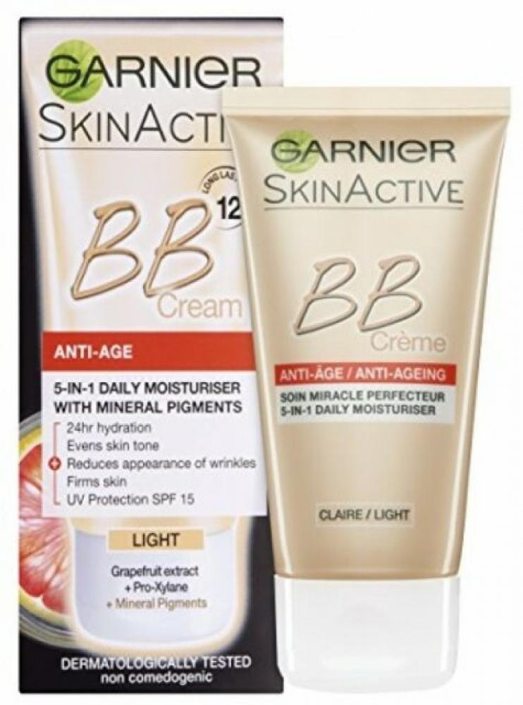 Garnier BB Cream Anti-Ageing Light 50ml Damaged Box