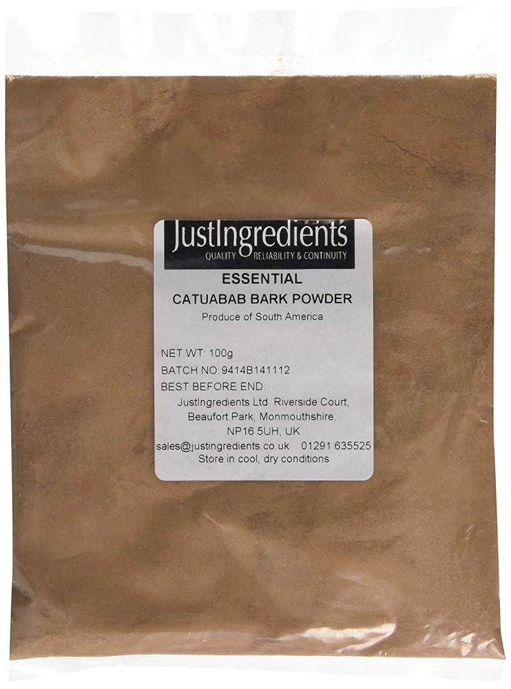 JustIngredients Catuaba Bark Powder 100g