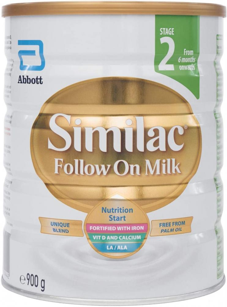Similac Follow on Milk Stage 2 From 6 Months Onwards 900 g