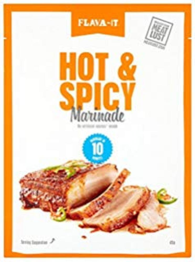 Flava It Hot and Spicy Marinade 35g