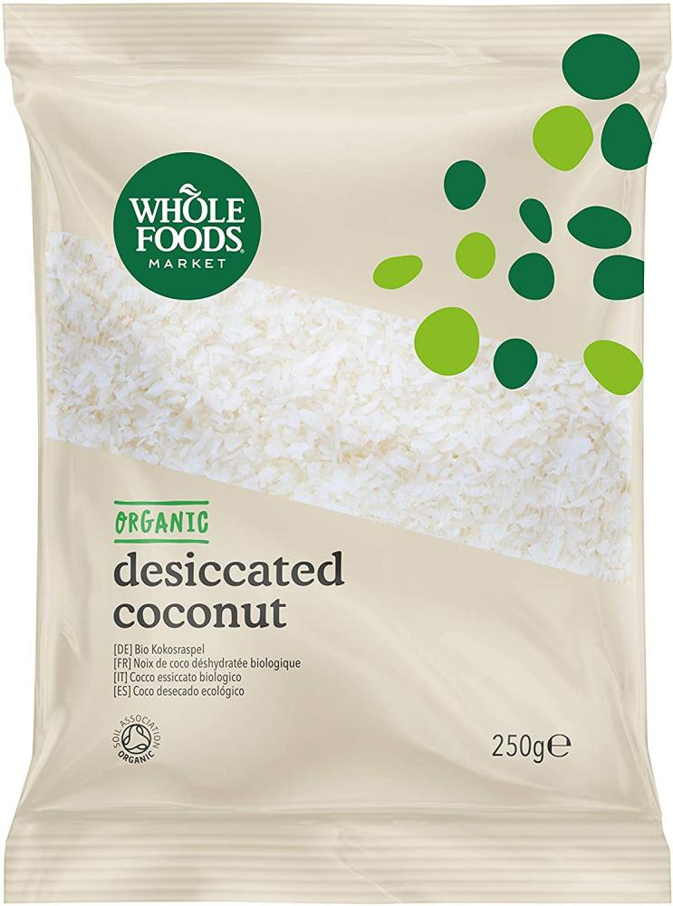 WEEKLY DEAL  Whole Foods Market Organic Desiccated Coconut 250g